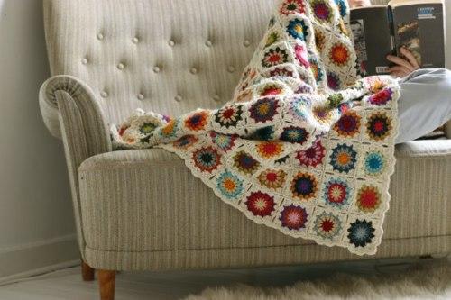 Casa Hogar » mantas de crochet