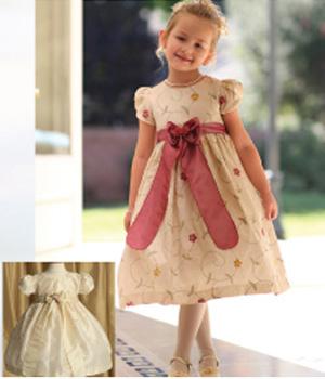Vestido para niña de 2 años