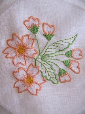Diseños de flores para bordar
