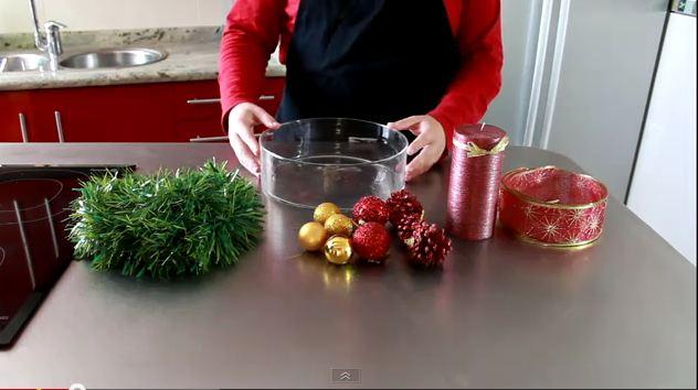 Casa hogar centros de mesa navide os for Centros navidenos