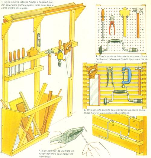 Casa hogar archivo del blog como hacer un tablero de - Tablero de herramientas ...
