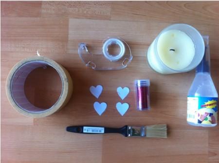 Materiales para hacer velas